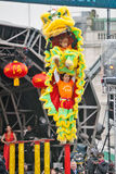 Chinese new year Lion dance Stock Image