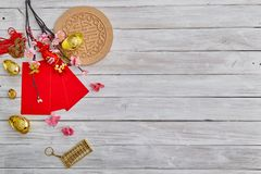 "Lucky Chinese New Year 2019. 2019 Chinese new year or lunar new year decoration on white wooden background. Text space images. with character ""FU &#x22 royalty free stock photos"
