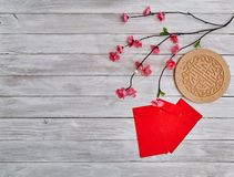 "Lucky Chinese New Year 2019. 2019 Chinese new year or lunar new year decoration on white wooden background. Text space images. with character ""FU &#x22 stock photography"