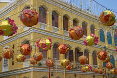 Chinese New Year in Macau Stock Photography