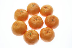 Chinese New Year Mandarins Stock Photography