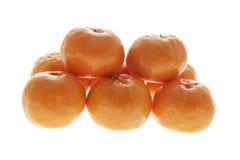 Chinese New Year Mandarins Stock Photos