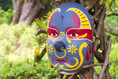 Chinese New Year Mask Stock Photography