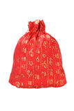 Chinese New Year Money Bag. Chinese New Year Prosperity Bag on White Background