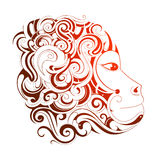 Chinese New Year 2016 Monkey horoscope symbol. Chinese zodiac monkey as symbol for year 2016 Royalty Free Stock Images