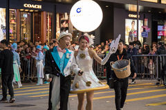 Chinese New Year Night Parade. Street Performance, Chinese New Year Night Parade Stock Image