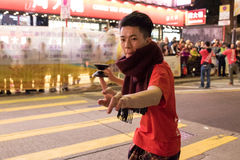 Chinese New Year Night Parade. Street Performance, Chinese New Year Night Parade Stock Photography