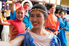 Chinese New Year Night Parade. Street Performance, Chinese New Year Night Parade Royalty Free Stock Photos
