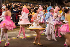 Chinese New Year Night Parade Stock Photos