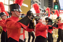 Chinese New Year Night Parade Royalty Free Stock Images