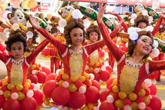 Chinese New Year Night Parade Stock Image
