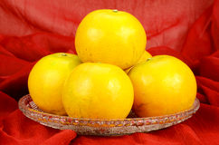 Chinese New Year Oranges. Stock Photography