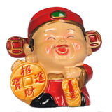 Chinese New Year Ornament. On white stock images
