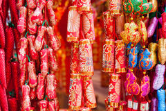 Chinese new year ornament Royalty Free Stock Images