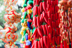 Chinese new year ornament Stock Image