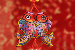 Chinese New Year Ornaments. Traditional fish