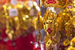 Chinese New Year Ornaments Stock Photo