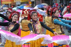Chinese New Year Parade Royalty Free Stock Photos