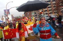 Chinese New Year Parade Stock Image