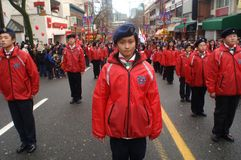 Chinese New Year Parade Stock Photos