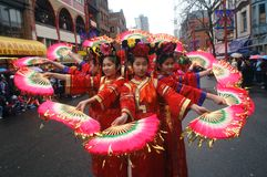 Chinese New Year Parade Stock Images