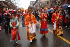 Chinese New Year Parade Royalty Free Stock Image