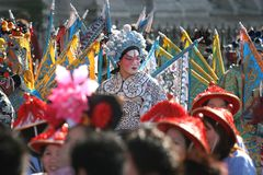 Chinese new year parade, in Paris, France Royalty Free Stock Photography
