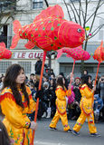 Chinese new year in Paris Stock Photo