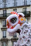 14/02/2018 - Chinese New Year party in Paris Stock Images