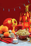 Chinese New Year party table Stock Images
