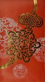 Chinese New year Pattern. Chinese new year calligraphy pattern Royalty Free Stock Image