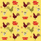 Chinese New Year pattern Royalty Free Stock Image
