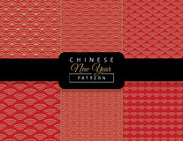 Chinese New Year pattern Stock Photos