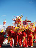 Chinese New Year Performace Royalty Free Stock Photos