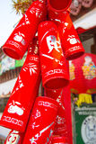 Chinese New Year. This photo are dress in Chinese New Year Royalty Free Stock Photography
