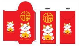 Chinese new year pocket design Stock Image