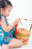 Chinese new year preparation Royalty Free Stock Images