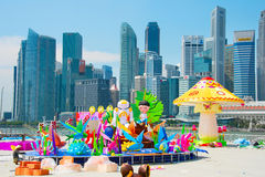 Chinese New Year preparation. Singapore Stock Images
