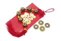 Chinese New Year Products. On Isolated White Background