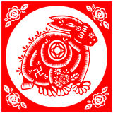 Chinese New Year rabbit Royalty Free Stock Photography