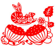 Chinese New Year rabbit Royalty Free Stock Images