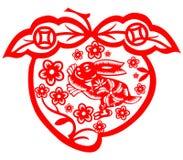 Chinese New Year rabbit Royalty Free Stock Photo