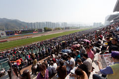 Chinese New Year Raceday Stock Photo