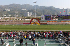 Chinese New Year Raceday Stock Photography