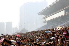 Hong Kong : Chinese New Year Raceday 2011 Royalty Free Stock Photo