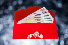 Chinese New Year red envelopes Royalty Free Stock Images