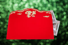 Chinese New Year red envelopes Royalty Free Stock Image