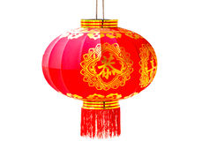 Chinese new year red lantern i Stock Photography