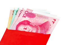 Chinese New Year red packets Stock Image