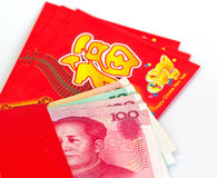 Chinese New Year red packets Royalty Free Stock Photo
